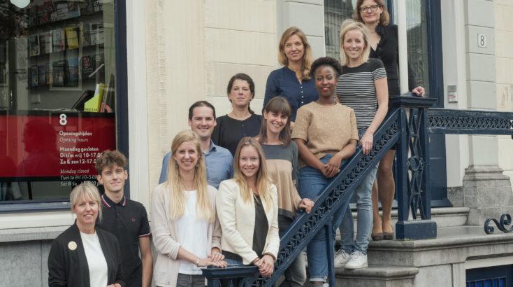 Medewerkers van het Humanity House