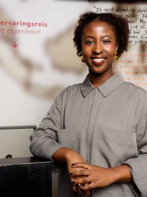 Audrey Mussoni medewerker educatie Humanity House