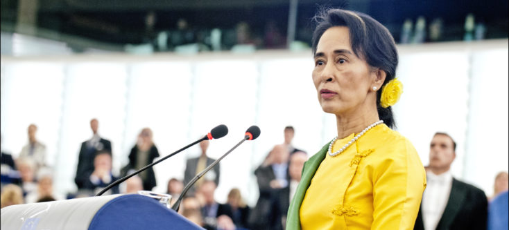 Aung San Suu Kyi, Myanmar - Humanity House