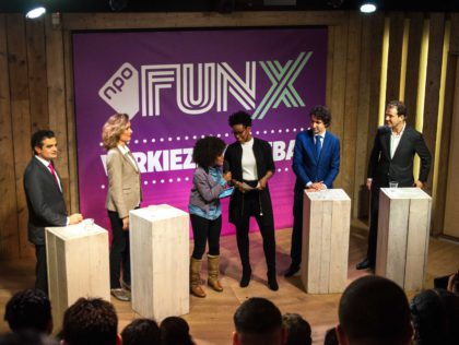 FunX jongerendebat in Humanity House