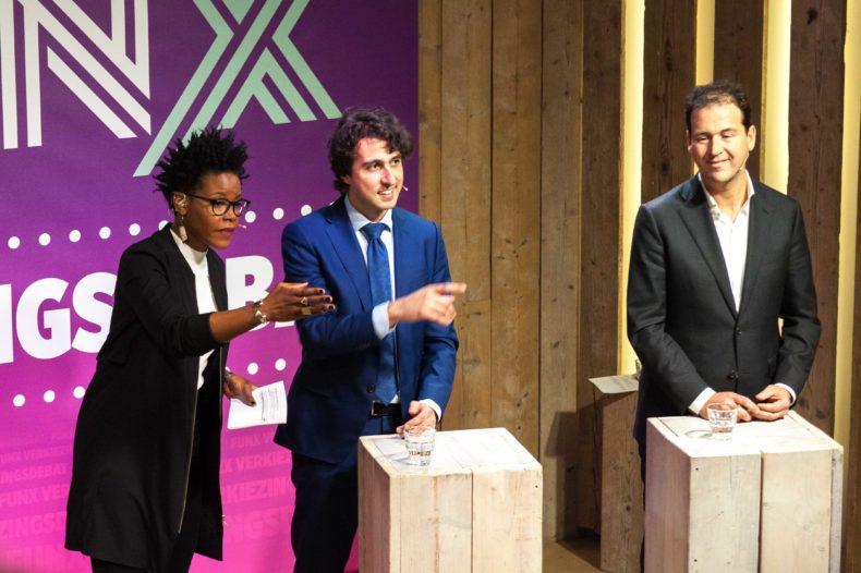 Kijk terug: Het FunX verkiezingsdebat live vanuit Humanity House 8