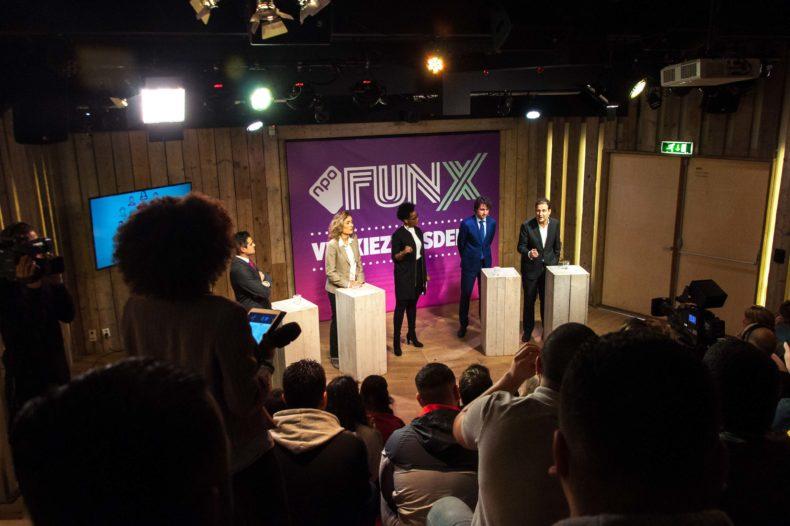 Kijk terug: Het FunX verkiezingsdebat live vanuit Humanity House 7