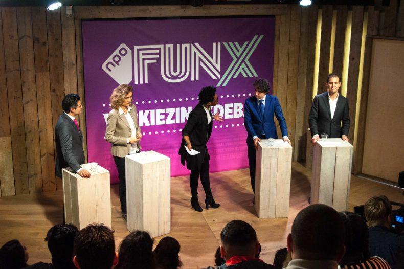 Kijk terug: Het FunX verkiezingsdebat live vanuit Humanity House 6