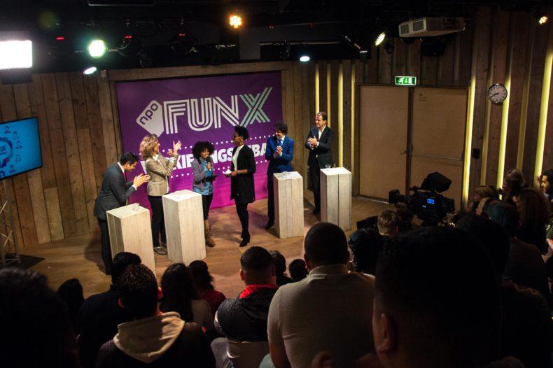 Kijk terug: Het FunX verkiezingsdebat live vanuit Humanity House 5
