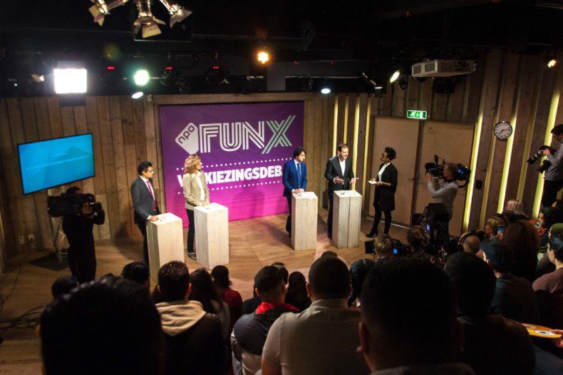 Kijk terug: Het FunX verkiezingsdebat live vanuit Humanity House 16