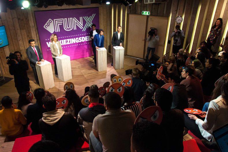 Kijk terug: Het FunX verkiezingsdebat live vanuit Humanity House 12