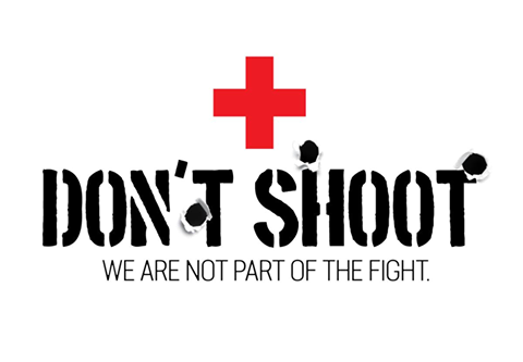 Don't shoot - Humanity House