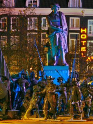 Rembrandtplein Amsterdam - Humanity House