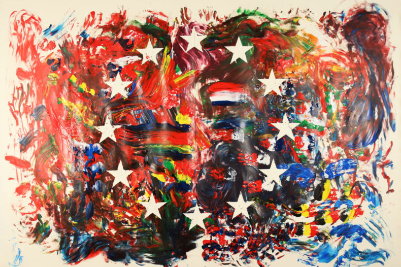 Schilderij KABK Europa - Humanity House