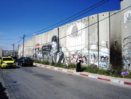 Muur tussen Israel en Palestina - Humanity House