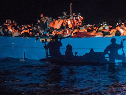 Vluchtelingenboot Libië - Humanity House