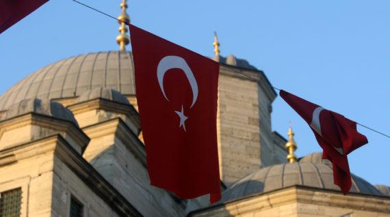 Vlag Turkije - Humanity House