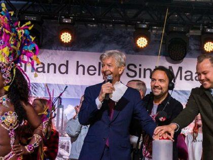 Actiedag Sint Maarten door Rode Kruis - Humanity House