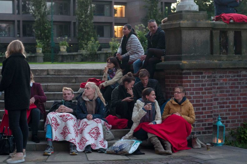 Openluchtfilm Vredespaleis - Humanity House