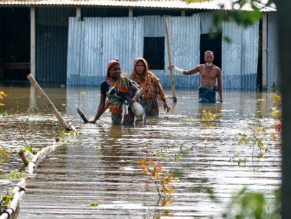 Overstroming zuid azie.