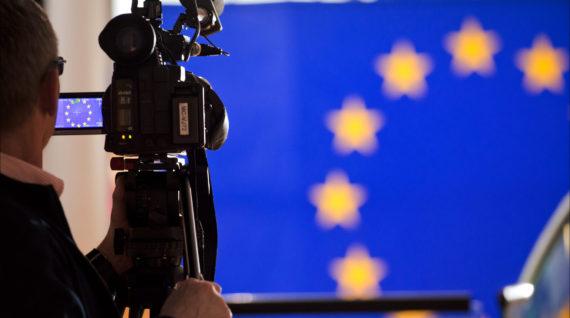 Camera Flag EU - Humanity House