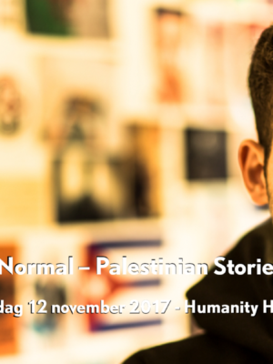 Luister terug: Next to Normal – Palestinian Stories Untold