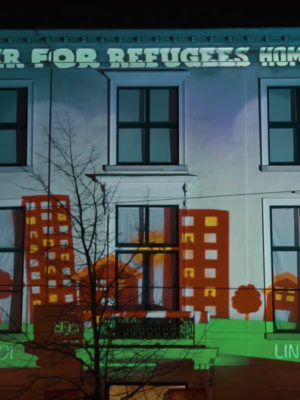 Together For Refugees Projectie - Humanity House
