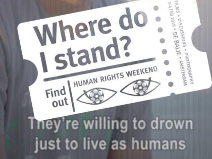 Human Rights Weekend - Humanity House