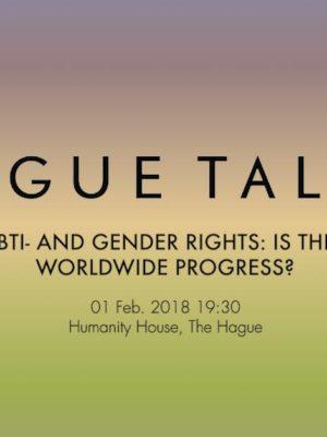 Kijk terug: HagueTalks over lgbti- en genderrechten 2