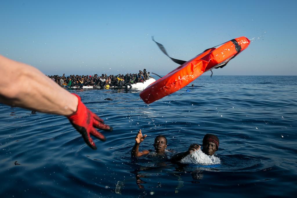 Einde Middellandse Zeeroute - Humanity House