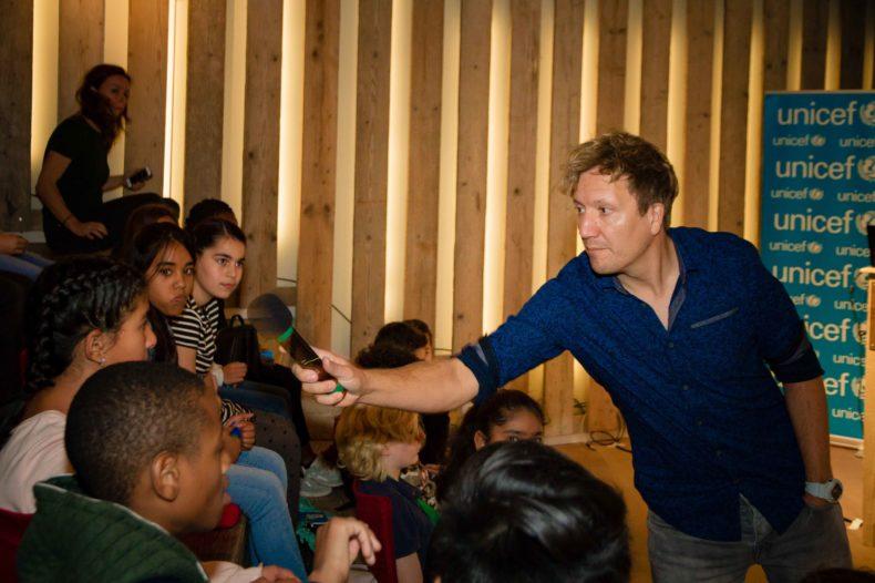 Lancering digiles van Unicef: 'Kinderen op de Vlucht'