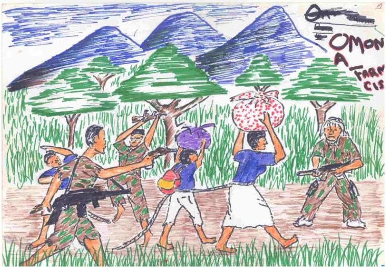 Hoe getraumatiseerde kinderen de wereld zien door hun tekeningen 1