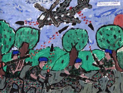 Hoe getraumatiseerde kinderen de wereld zien door hun tekeningen