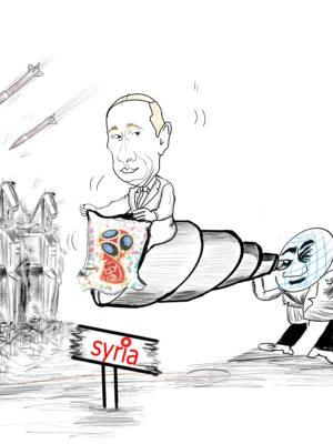Amany al ali Cartooning syria