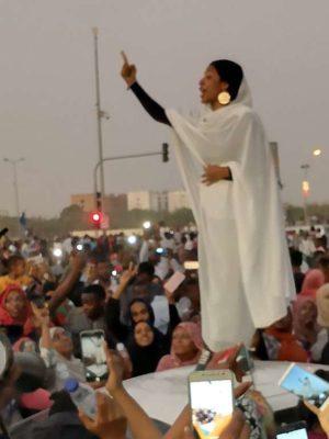 De jonge vrijheidsstrijders in Soedan