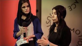 Terugkijken. Layla Tallou tijdens Haguetalks: Vijf jaar later: Hoe bouwen Yezidi-vrouwen de gemeenschap op na IS?