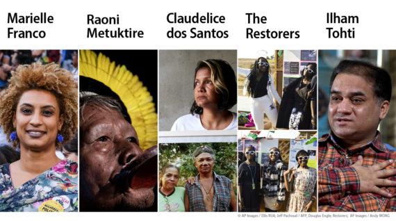 Sacharovprijs voor vrijheid van denken: een ode aan mensenrechtenactivisten