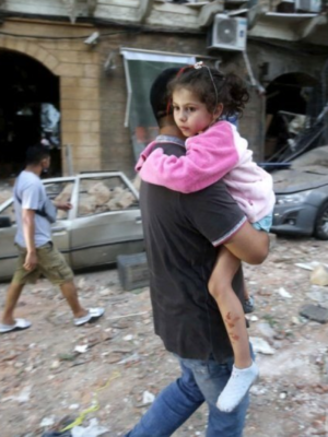 UNHCR biedt steun aan Beiroet na enorme explosie