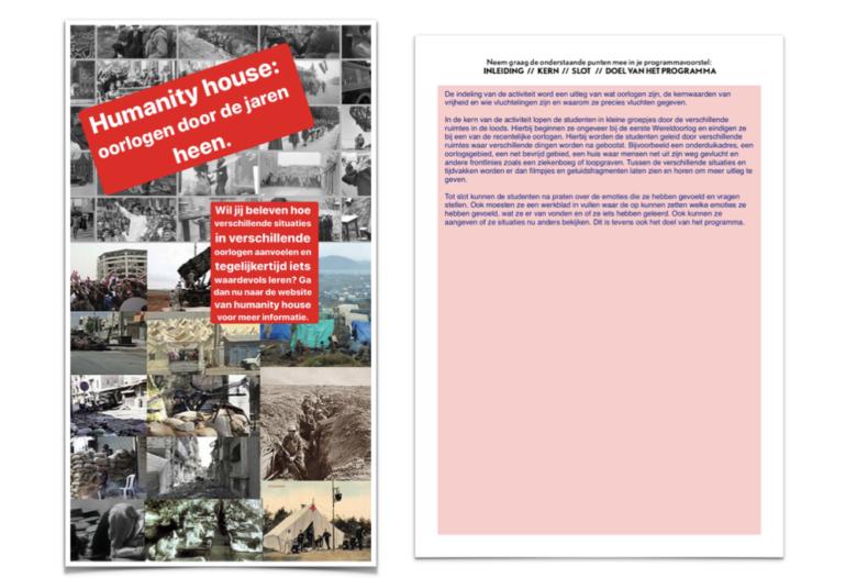 Humanity House X MBO - Welke programma's willen studenten zelf ervaren? 2